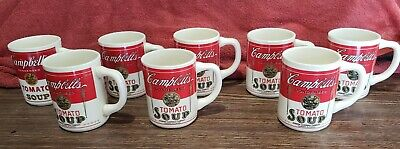 Vintage Campbell's Condensed Tomato Soup Coffee Cup Mug Ceramic 8oz