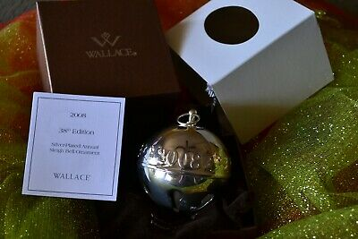 2008 Wallace Silver Plate Sleigh Bell