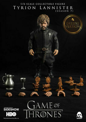 Threezero Game Of Thrones Tyrion Lannister Deluxe Dx Season 7 Disponibile 1/6
