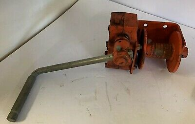 THERN 462 Hand Winch, Worm Gear, w/Brake, 1000 lb.