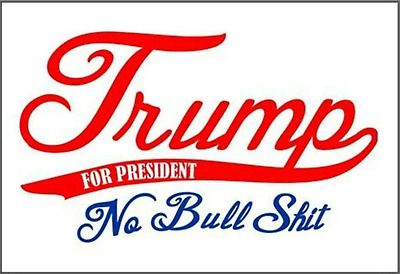 Trump 2020 No Bull Yard Sign High Quality Made In The USA By Real Americans