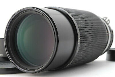 """ Near Mint "" Nikon Ai-s Nikkor 80-200mm F/4 Ais MF Zoom Lens w/ Hood JAPAN #12"