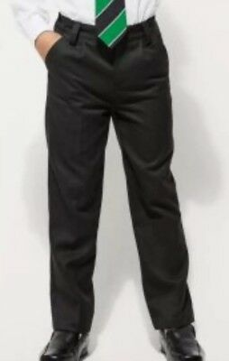 Black Pleat Front School Trousers...next Size 13Yrs