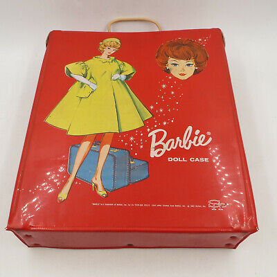 Barbie Midge Ken 1958, 1960, 1963 with Accessories, Clothing, Booklets, Case Box