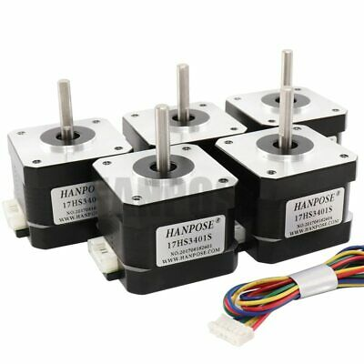 NEMA17 17HS3401S 1.3A 34mm 4-Lead 42 Stepper Driving Motor for 3D Printer Parts