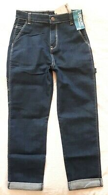 BNWT Next Boys 9-10 Years Loose Fit Blue Jeans, With Stretch