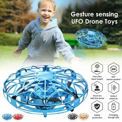 Mini Drones 360° Rotating Smart Mini UFO Flying Ball Drone for Kids Toys Gifts