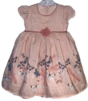 Girls Age 9-12 Months - M&S Autograph Beautiful Summer Dress - Very Silky