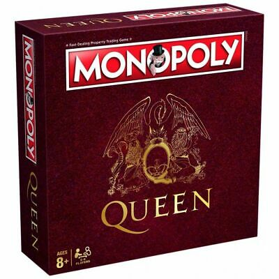 Queen Monopoly Board Game , Great Collectors Rock Group Version New