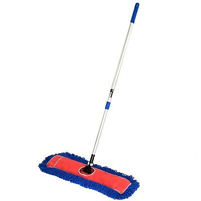 """New Rubbermaid Commercial HYGEN Pulse Mop 1835528 18/"""" Frame 52/"""" Handle Free Pads"""