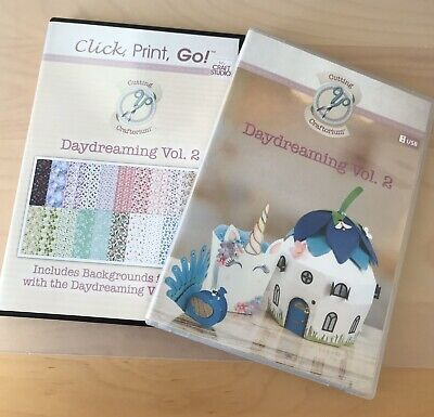 Cutting Craftorium Daydreaming Vol.2 Usb With Cd Rom Backing Papers