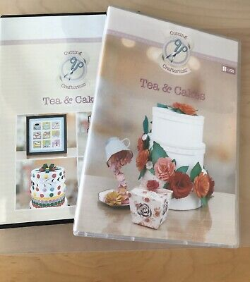 Cutting Craftorium Tea & Cakes Usb With Cd Rom Of Backing Papers