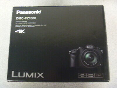 Panasonic Lumix 4K DMC-FZ1000 (Black) **Damaged Box in Shipping**