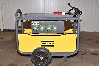 Atlas Copco CF67T Dynapac Frequency Converter Vibrator 4 Outlets