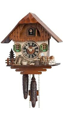 Cuckoo Clock Little black forest house HO 1750 NEW