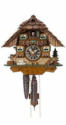 Cuckoo Clock Little black forest house HO 1747 NEW