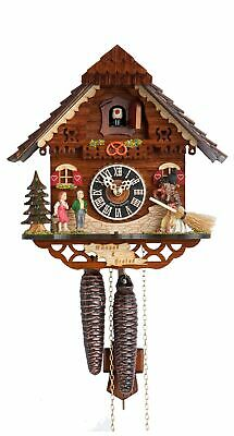 Cuckoo Clock Little black forest house HO 1213 NEW
