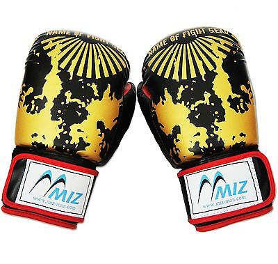 MMA Gloves Sparring Boxing Muay Thai Punch Bag Professional Mitts Training 10oz