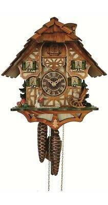 Cuckoo Clock Little black forest house SC 6412/9 NEW