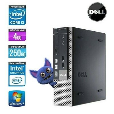 Dell Optiplex 7010 Usff Core I3 3240