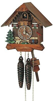 Cuckoo Clock Little black forest house SC 85/9 NEW