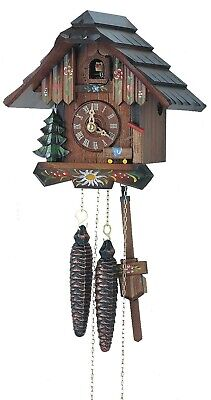 Cuckoo Clock Little black forest house SC 63/10 NEW