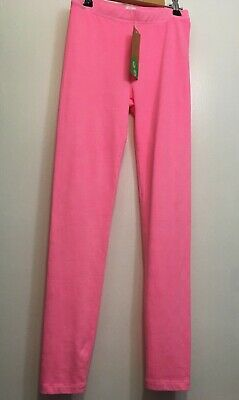 JCrew Crewcuts Girl's Cozy Everyday Legging in hot pink Size 12 ~NWT~