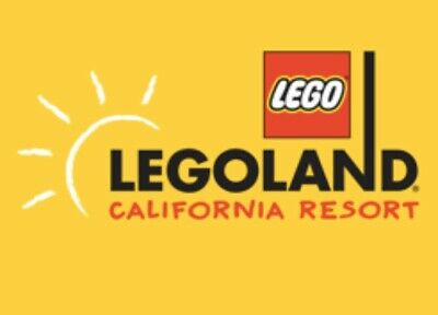 5 Legoland California - 1  Day Legoland+Sealife Tickets - Instant Delivery Code