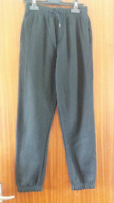 Bnwot Age 11-12 Years Black Tracksuit Bottoms 152Cm