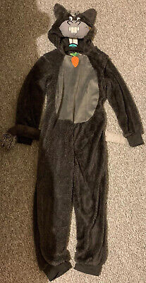 KIDS DONKEY COSTUME ALL IN ONE FANCY DRESS 5-6 YEARS WORLD BOOK DAY NATIVITY