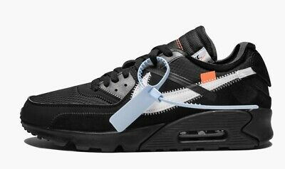 OFF WHITE X NIKE Air Max 90 in black | AA7293 001 EUR 155