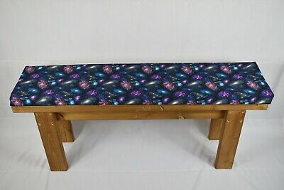 Handmade Wooden Kitchen Dining Bench And Cushion Set