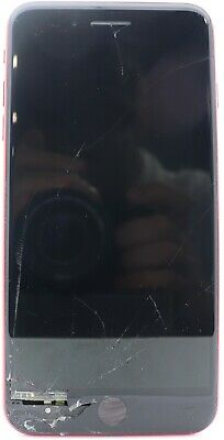 Apple iPhone 8 Plus RED 64GB - (Verizon) A1864 (CDMA   GSM) Cracked Screen AS IS