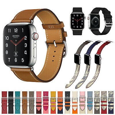 44mm 40mm 42mm 40mm Genuine Leather Band Strap For Apple Watch Series 5 4 3 2 1