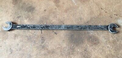 """Vintage MAC TD4 1/2"""" x 7/16"""" Long Open End Tappet Wrench - USA"""
