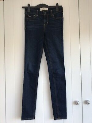 Hollister W24 L33 Blue Skinny Jeans - Excellent Condition