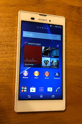 Sony Xperia T3 D5106 - 8GB - White (Bell/Virgin) Smartphone