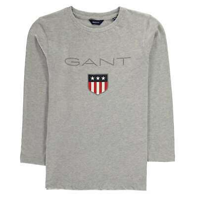 Kids Boys Gant Logo OTH Hoodie Long Sleeve New