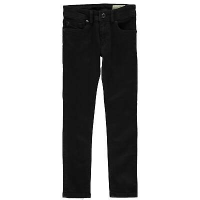 Kids Boys Diesel Sleenker Slim Jeans Skinny Zip New