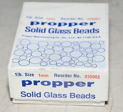 Propper Solid Glass Mixing Beads 1LB. 1mm 030002