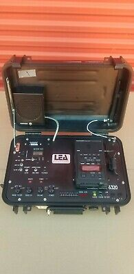 LEA Law Enforcement  6320 Audio Recorder