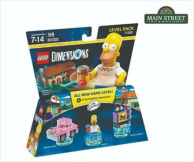 Lego Dimensions Fun Pack Homer Simpson Level Pack 71202 NEW