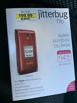 Jitterbug Phone Plans >> Jitterbug Flip Easy To Use Cell Phone For Seniors Graphite