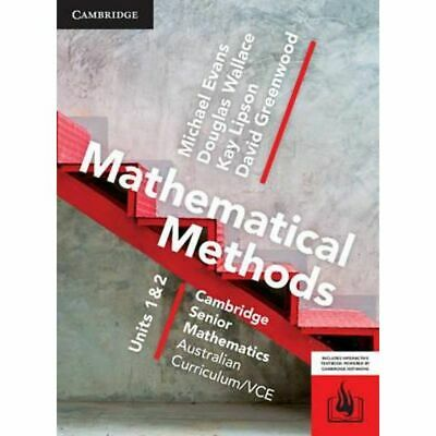 (WORKED SOLUTIONS) Cambridge Mathematical Methods VCE Unit 1/2