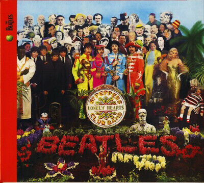 The Beatles Sgt.pepper's 50Th Anniversary Sealed Cd 2017 Sent 1St Class