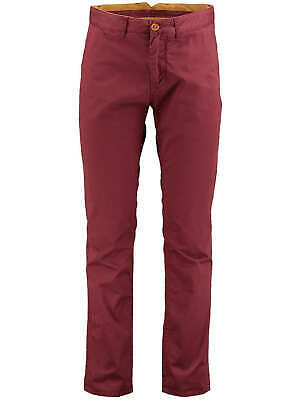 "O'NEILL Mens Barn Red Friday Night Chino Pants Trousers 32"" Waist Regular BNWT"