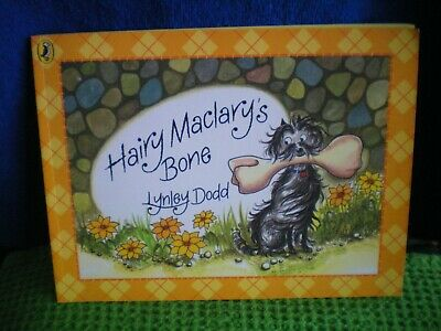 HAIRY MACLARY'S BONE  by Lynley Dodd PUFFIN BOOKS Paperback VGC