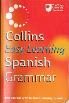 Collins Easy Learning Spanish Grammar (Collins... - Collins - Acceptable - Pa...