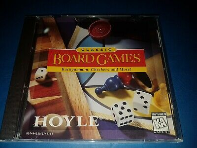 Hoyle Classic Board Games Pc Cd Rom
