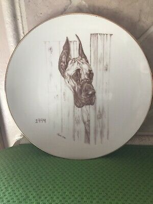 Laurelwood Plate 1994 Great Dane Limited Edition of 150